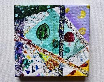Colorful Outburst--Medium Acrylic Painting