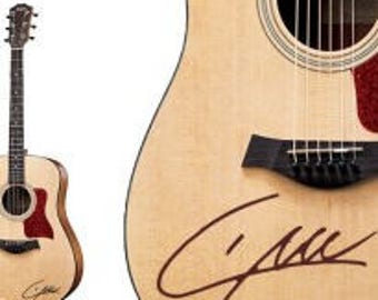 Liam Payne One Direction Handwriting guitar decal