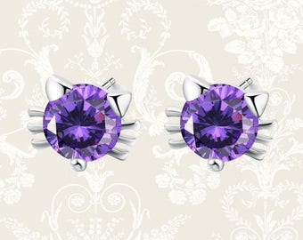 Cat stud earrings | cat earrings | cat earrings | cat studs | cat lover gift | cat post earrings | cat jewellery | animal earrings
