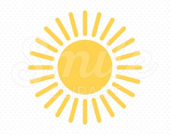 SUN Clipart Illustration for Commercial Use | 0018