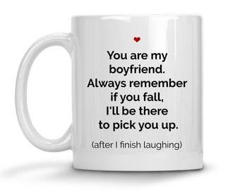 Funny Boyfriend Mug - Funny Boyfriend Gift - Valentines Day Gif For Boyfriend - Gift For Boyfriend - Boyfriend Coffee Mug - Boyfriend Cup