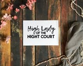 High Lady of the Night Co...