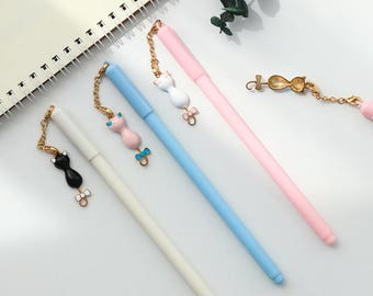 Lovely Cat Pens - Gel Pen, Ink Pen, Stationery