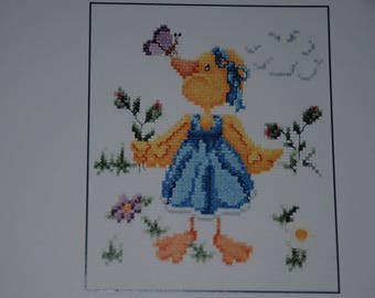 """Kit counted stitches """"the butterfly and the duck"""""""