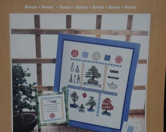 "the ""bonsai"" cross stitch Embroidery pattern"