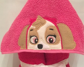 Skye Hooded Towel