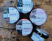 The Triangle Candle Range - Bookish Character Love Triangles