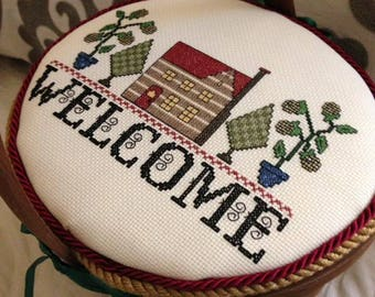 Welcome Basket with Cover