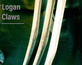 """Logan's Wolverine's Claws Extra Long 12"""" 1Piece Kit"""