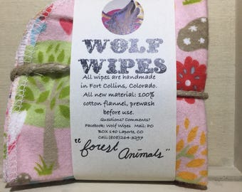 Wolf Wipes [Forest Animals]