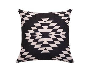 Aztec decorative pillow covers Tribal throw pillow covers Navajo pillow case Ethnic pillow case Geometric cushion case Sofa home decor 18x18