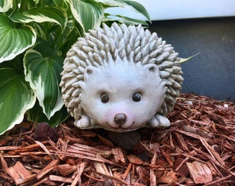 Hedgehog, Concrete hedgehog statue