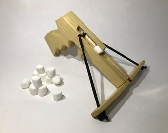 Mini Marshmallow pistol crossbow