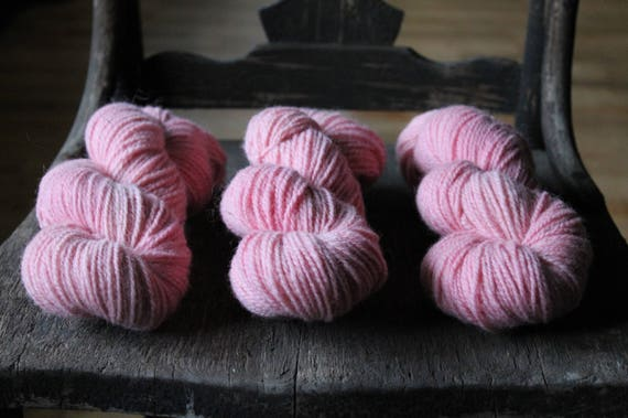 Seafolk Skeins - 2 ply Naturally Dyed 100% non super wash - DK to Light Worsted - 200 yards 100 grams