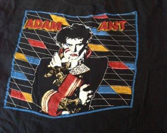 Adam Ant Prince Charming original vintage T-shirt