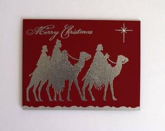 Christmas Wisemen Card - Religious Holiday Card - Christian Christmas Card - Nativity Card - Merry Christmas Card - Wisemen Still Seek Him