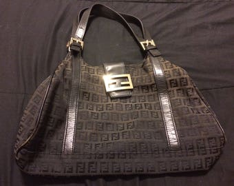 Authentic Fendi hobo vintage bag