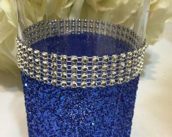 Wedding Royal Blue Vase