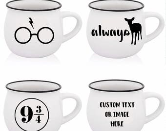 Harry Potter Mug | Harry Potter Quote | Always | Platform 9 3/4 | Harry Potter Glasses | Harry Potter Custom Mug
