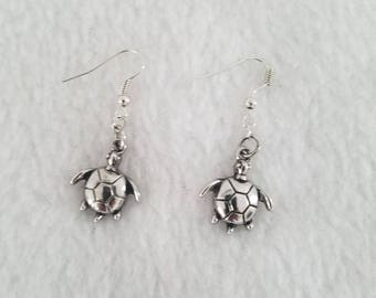 Handmade Turtle Earrings