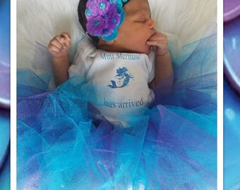 Mermaid Tutu Set