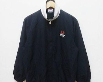 Hot Sale!!! Rare Vintage 90s ELLESE Embroidery Big Logo Winbreaker Jacket Hip Hop Skate Swag Medium Size