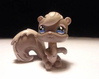 Littlest Pet Shop brown Squirrel