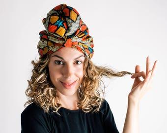 Afro turban headband