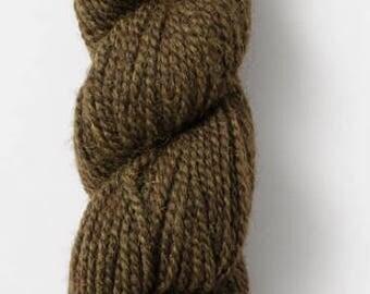 Melange in Pesto - Blue Sky baby alpaca - sport weight yarn