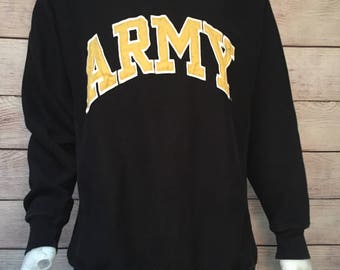 Rare Army Crewneck Sweatshirt by Steve and Barry's