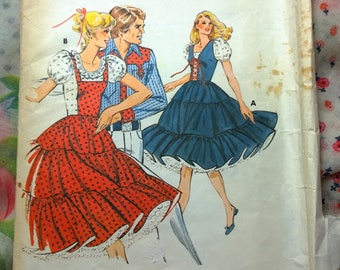 Kwik Sew 915:Square Dance Dress Pattern