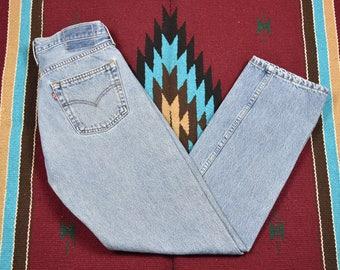 Vintage Blue Levi's Button Fly Jeans