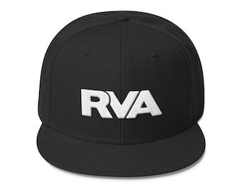 RVA Logo Snapback Hat- Multiple Colors Available: VCU, University of Richmond, Virginia Union University
