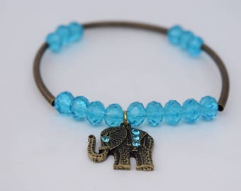Blue Antique Bracelet