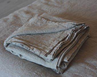 Linen flat sheet, linen bed sheet, flat sheet, linen bedding, hand made linen bedding, All SIZE
