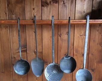 Lotto Vintage ladles!! Lot of vintage Ladles