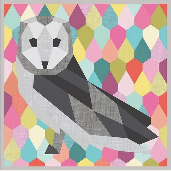 Barn Owl Quilt Pattern By Violet Craft