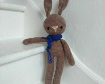 Beautiful amigurumi rabbit