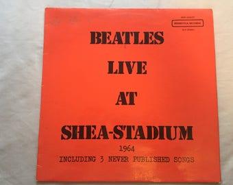 The Beatles Live At Shea Stadium 1964 Benbecula Records Bootleg