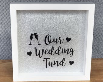 Wedding Fund Frame, Wedding Fund, Wedding Savings, Savings Fund, Wedding Gift, Personalised, Personalised Gift, Engagement Gift, Couple