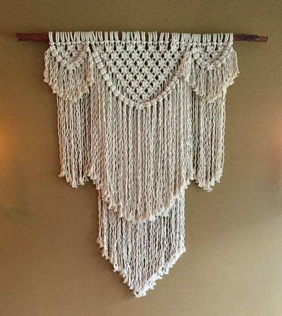 BEAUREGARD Macramé Pattern BEGINNER//Wall Hanging Pdf DIY