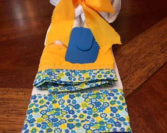 2 Flour sack dish towels