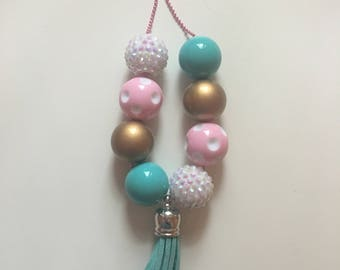 Tassel bubble necklace