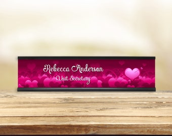 Stuck Love Desk Name Plate (various colors)