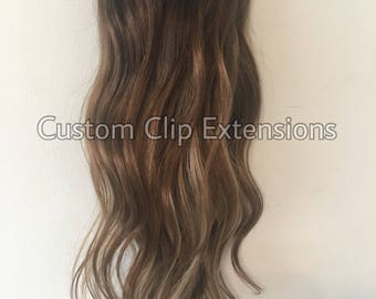Balayage extensions etsy light blonde clip in hair extensions clip in hair extensions balayage hair extensions pmusecretfo Image collections