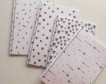 Black and White Planner Cover