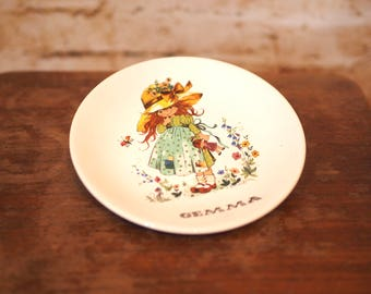 1980's 'Gemma' Collectible Display Plate