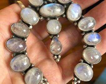 Sterling moonstone pendant