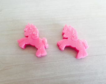 2 x Snow Fairy (Lush Inspired) Scented Mini Unicorn Soy Wax Melt For Wax Burners / Gift