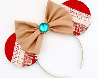 The Island - Handmade Mouse Ears Headband